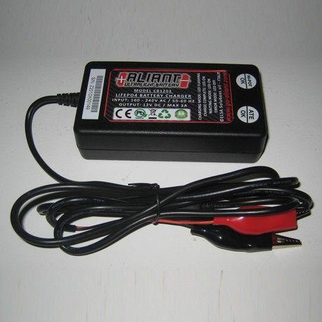 Cargador Aliant CB1203 + Kit cable