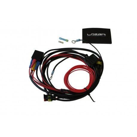 Kit cableado para 2 faros Lazer