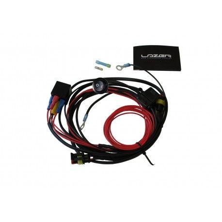 Kit cableado para 2 faros Lazer con interruptor