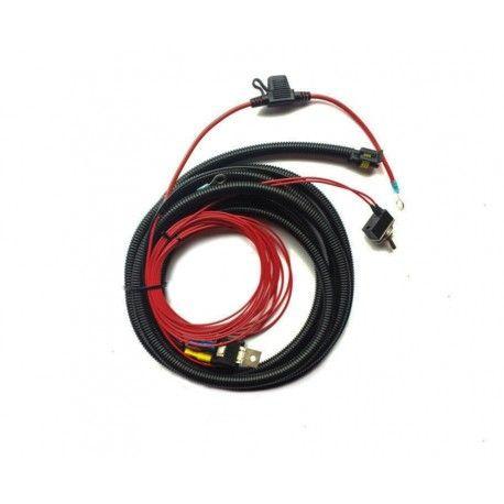 Kit cableado para 1 faro Lazer con interruptor