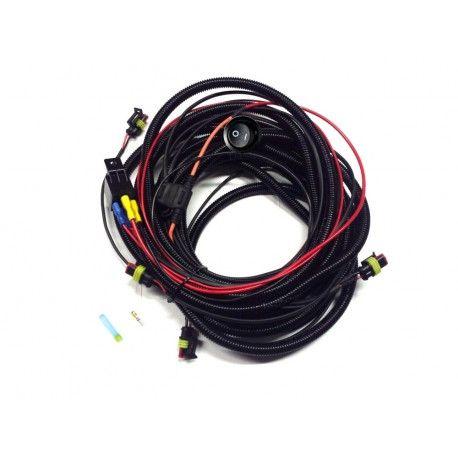 Kit cableado para 4 faros Lazer con interruptor